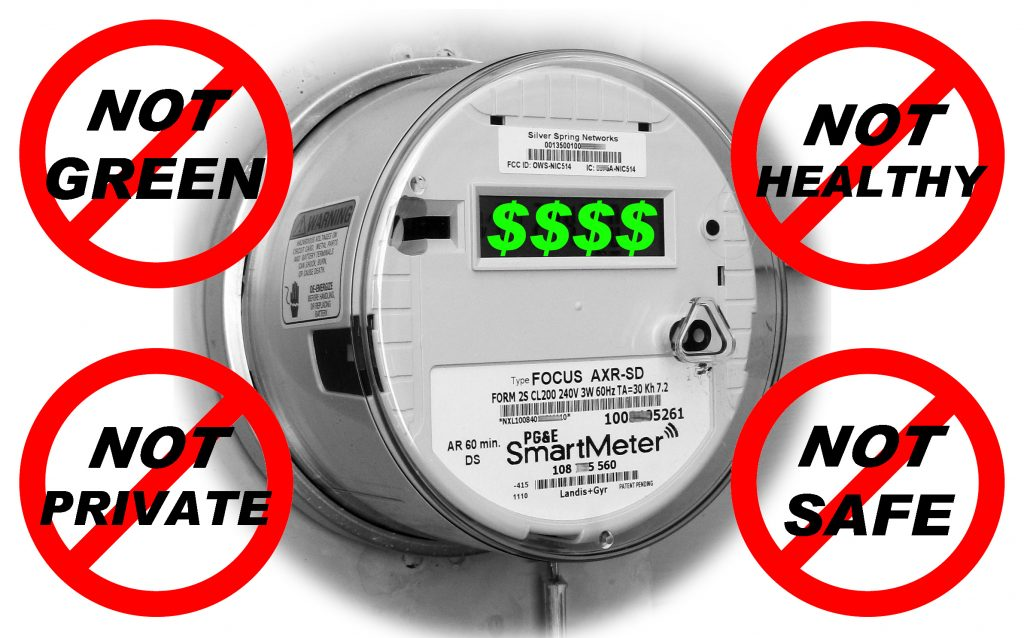 Image result for image of smart meters killing you